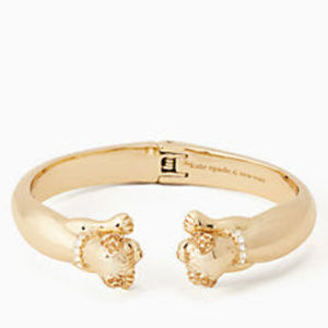 Kate Spade Puppy Open Hinged Cuff